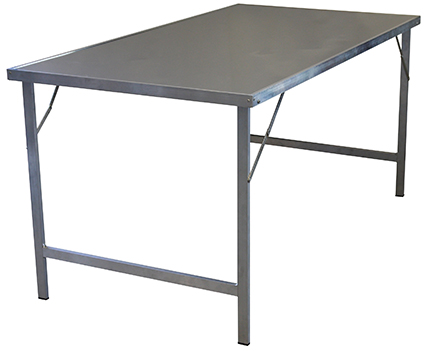 Upracks Alu Strut And Stainless Top Table